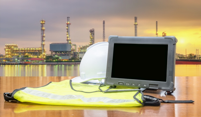 Rugged tablet rentals for construction managers